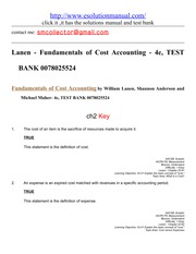 223656144-Lanen-Fundamentals-of-Cost-Accounting-4e-TEST-BANK-0078025524