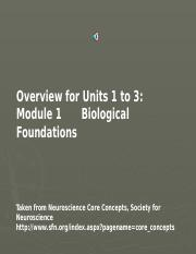 1 Module Biolog Foundations no notes.ppt