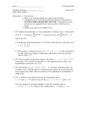 Practice Test 2 Solutions