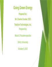 Presentation ENGL 216 Going Green Energy.pptx