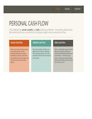 Cash Flows Year 1