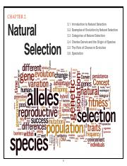 Chapter 2 Natural Selection-Biology100