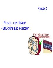 5. Biological membrane (for students)