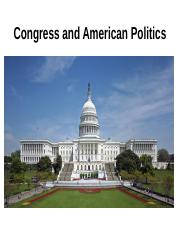 Congress and American politics