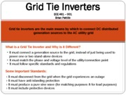 Fall_2011_Grid Tied Inveretrs