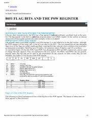 8051 FLAG BITS AND THE PSW REGISTER-10.pdf
