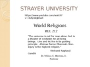 World Religions Chapter 4 - Jainism