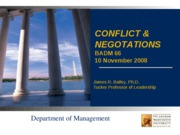 Conflict & Negotiation.ppt