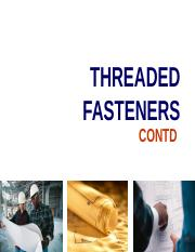 Threaded Fasteners - II (Nuts-Bolts-Washers).ppt