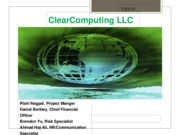 Sample ClearComputing PPT