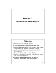 Lecture 13 - Notes