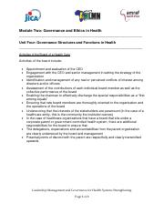 Activities of the Board of a Health Care.pdf