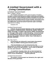 6 our constitution a living document no blanks