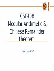 Lecture 38(Modular arth,chainees rem).pptx