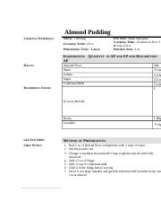 Almond Pudding Done.doc