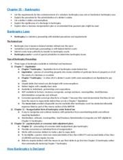 Chapter 35 notes - Bankruptcy.docx