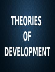 THEORIES-of-development