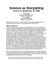 scienceasstorytelling