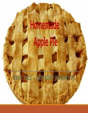 Lab 2-1 Homemade Apple Pie - Extra Credit - Shun Ren.pptx