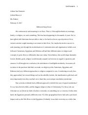 Global History Final Final Paper