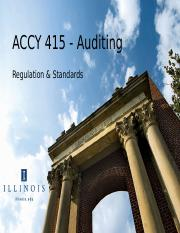 ACCY 415 Day 4 Auditing Standards GAAS.ppt