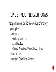 Multiple cash flows and valuation principles.pptx