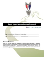 Amaan Eagle Project Proposal