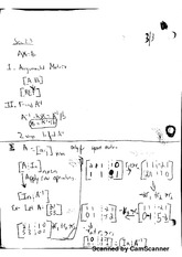 Notes on Augmented Matrices