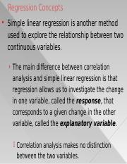 7. Simple Linear Regression