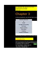 CF 11th edition Chapter 03 Excel Master