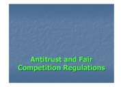 Antitrust and Fair Competition