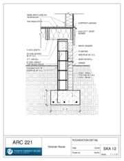 Arc 221 Victorian Residence - Sheet - SKA 12 - FOUNDATION DETAIL.pdf