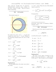 10.4_ Area_Length in Polar Coordinates-solutions