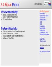 2.4 Fiscal Policy.pptx