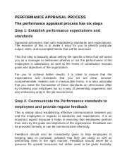 PERFORMANCE APPRAISAL PROCESS  HANDOUT.docx