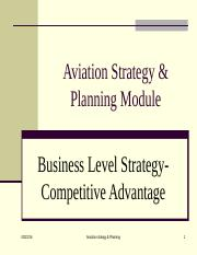 Chap 2-2  Business Strategy- strategic position- Profit potential and competitive advantage.ppt