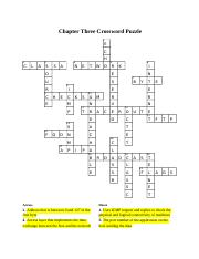Baylor, Jessica - Chapter - Three Crossword Puzzle.docx