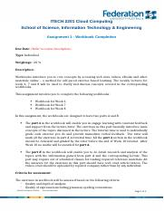 ITECH 2201 Cloud Computing_Assignment_1_WorkBook-Completion_Updated.docx