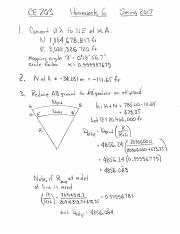 CE203_Hmwrk06_StatePlaneSurveyLine_Solution