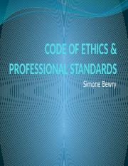 CODE OF ETHICS  PROFESSIONAL STANDARDS.pptx