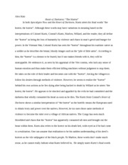 letter from a birmingham jail essay alex kim rhetorical usage  2 pages heart of darkness the horror essay
