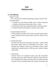 Wawasan Nusantara Isi Pdf Bab I Pendahuluan A Latar Belakang Falsafah Pancasila Nilai U2013 Nilai Pancasila Mendasari Pengembangan Wawasan Nusantara Course Hero