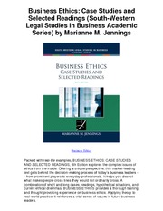 Business_Ethics_Case_Studies_and_Selected_Readings_South_Western_Legal_Studies_in_Business_Academi