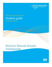ProCurveNetworkSecurityStudentGuide
