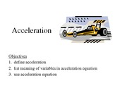 Acceleration-Notes