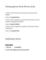Naming Igneous Rocks Review LAB.docx