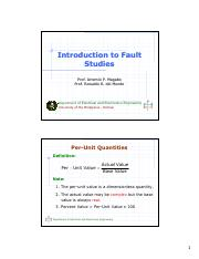 EE251 Lecture1 Introduction to Fault Studies.pdf