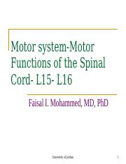 Motor Functions of the Spinal Cord-L 15-L16 students.ppt