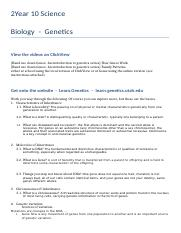 Year 10LC Biology notice.docx