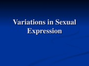 10 Variations in Sexual Expression
